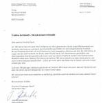 Drachengas Brief 180 Jahre
