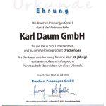 Drachengas-Urkunde