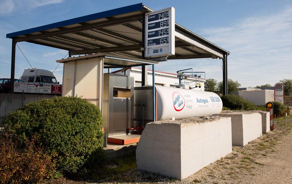 Tankstelle Eichstätt Wintershof