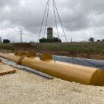 Unterirdische Kraftstofftanks
